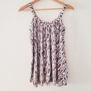 Old Navy tank full swing hem